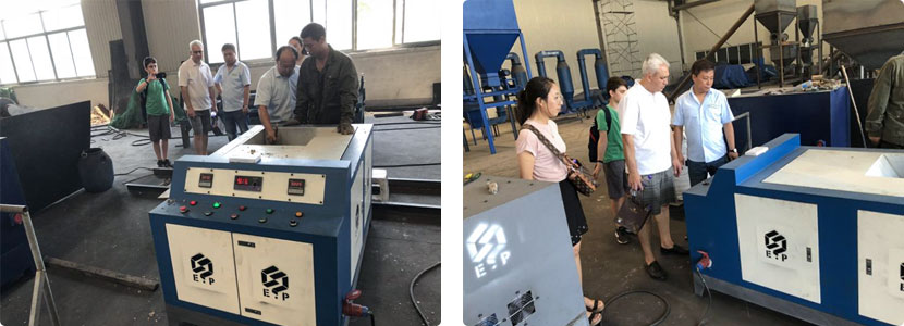 waste paper briquette production line