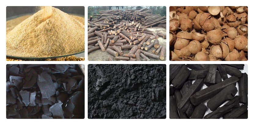Applicable raw materials