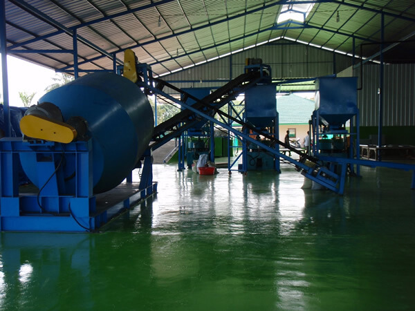 coal powder briquetting project