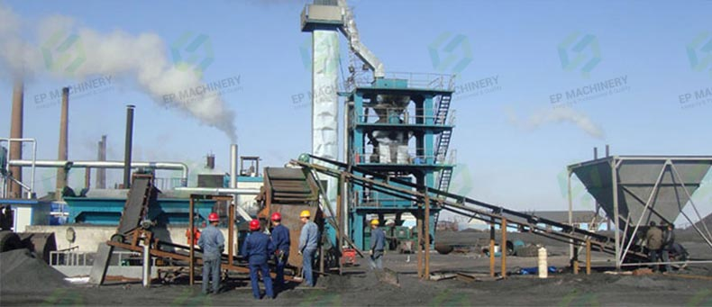 Punching type briquette press to Indonesia