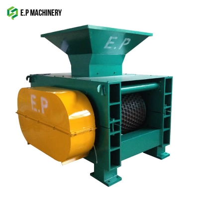 Metal briquette press machine