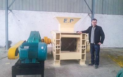 15 tons/h Coal briquetting line in Ireland