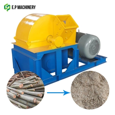 Wood crusher machine to make sawdust