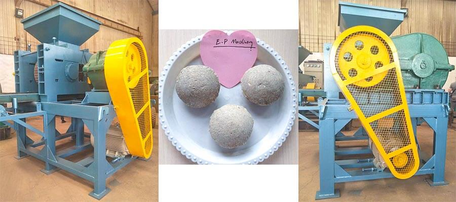 roller briquette machines